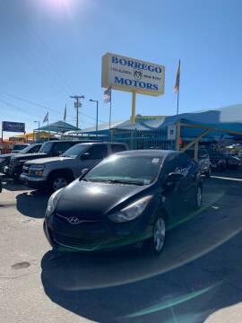 2013 Hyundai Elantra for sale at Borrego Motors in El Paso TX