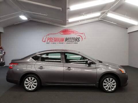 2015 Nissan Sentra for sale at Premium Motors in Villa Park IL