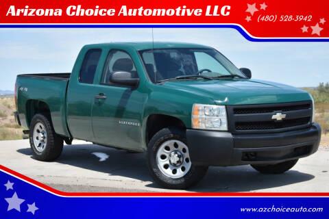 2007 Chevrolet Silverado 1500 for sale at Arizona Choice Automotive LLC in Mesa AZ