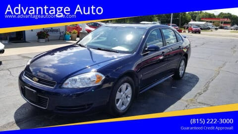 2009 Chevrolet Impala for sale at Advantage Auto Sales & Imports Inc in Loves Park IL