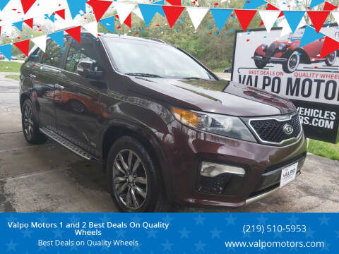 2012 Kia Sorento for sale at Valpo Motors 1 and 2  Best Deals On Quality Wheels in Valparaiso IN