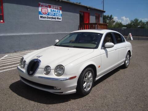 2004 Jaguar S-Type for sale at One Community Auto LLC in Albuquerque NM