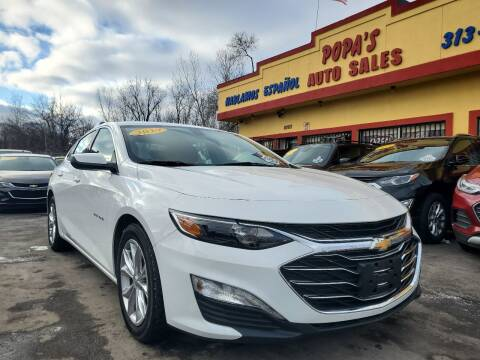 2019 Chevrolet Malibu for sale at Popas Auto Sales in Detroit MI