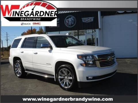 2016 Chevrolet Tahoe for sale at Winegardner Auto Sales in Prince Frederick MD