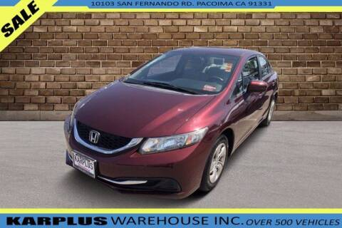 2014 Honda Civic for sale at Karplus Warehouse in Pacoima CA
