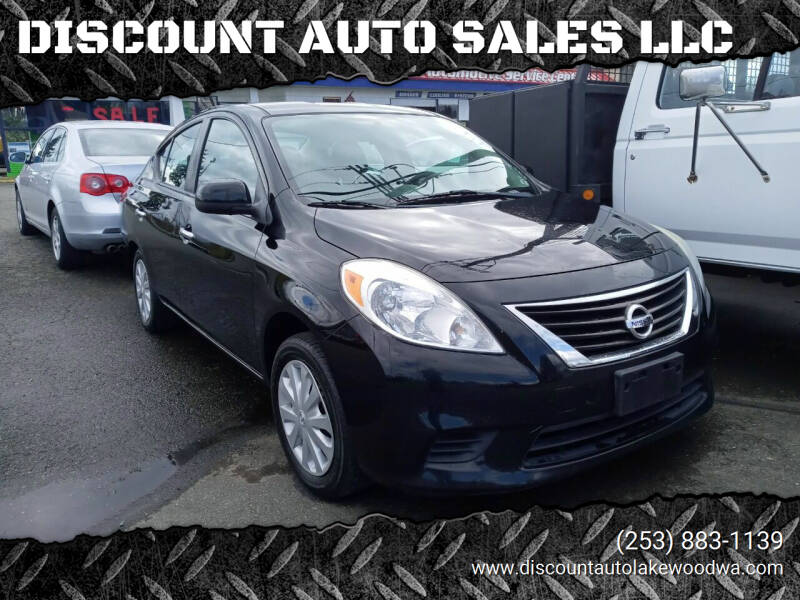 2012 Nissan Versa for sale at DISCOUNT AUTO SALES LLC in Spanaway WA