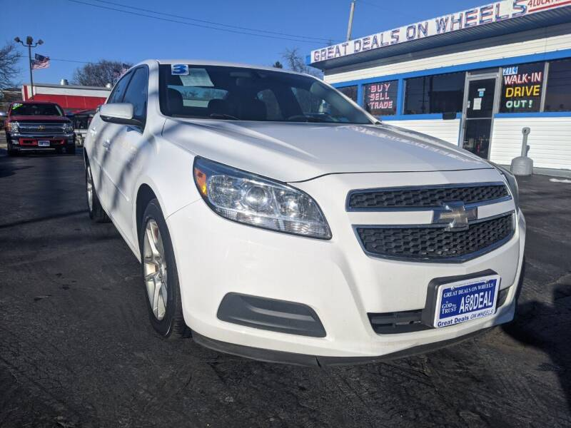 2013 Chevrolet Malibu for sale at GREAT DEALS ON WHEELS in Michigan City IN