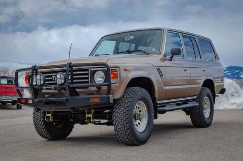 1986 Toyota Land Cruiser for sale at Classic Car Deals in Cadillac MI