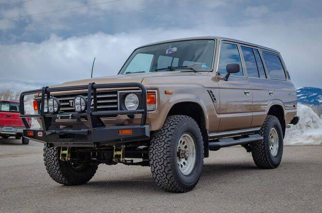 1986 Toyota Land Cruiser for sale in Cadillac, MI
