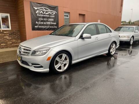 2011 Mercedes-Benz C-Class for sale at ENZO AUTO in Parma OH