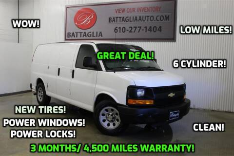 2014 Chevrolet Express Cargo for sale at Battaglia Auto Sales in Plymouth Meeting PA