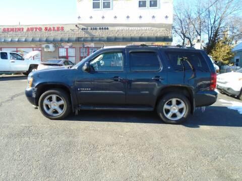2007 Chevrolet Tahoe for sale at Gemini Auto Sales in Providence RI