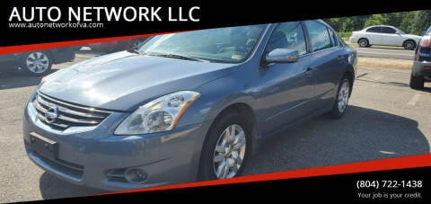 2011 Nissan Altima for sale at AUTO NETWORK LLC in Petersburg VA