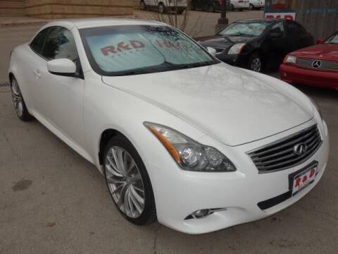 2013 Infiniti G37 Convertible for sale at R & D Motors in Austin TX