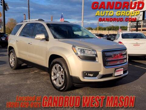 2014 GMC Acadia for sale at GANDRUD CHEVROLET in Green Bay WI