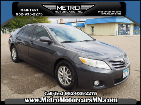 2011 Toyota Camry for sale at Metro Motorcars Inc in Hopkins MN