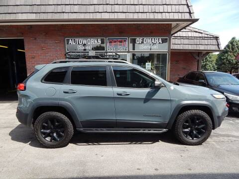 2014 Jeep Cherokee for sale at AUTOWORKS OF OMAHA INC in Omaha NE