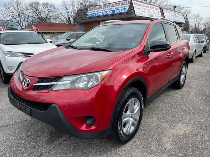 2014 Toyota RAV4 for sale at American Best Auto Sales in Uniondale NY