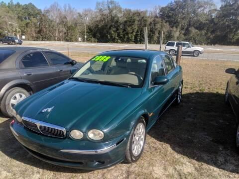 2003 Jaguar X-Type for sale at Ebert Auto Sales in Valdosta GA