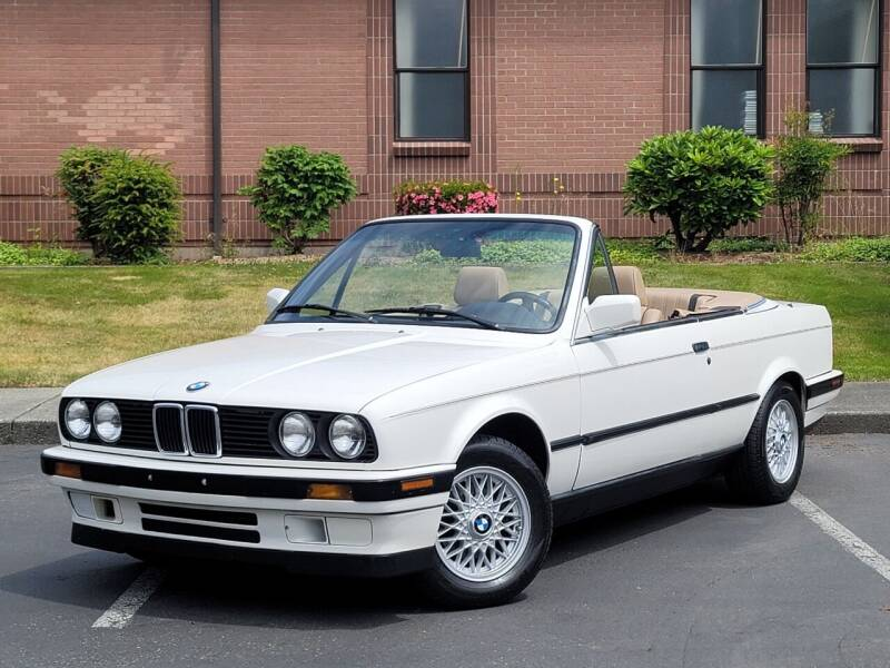 1992 BMW 3 Series for sale at SEATTLE FINEST MOTORS in Lynnwood WA