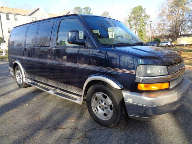 2010 Chevrolet Express Cargo for sale at Liberty Motors in Chesapeake VA