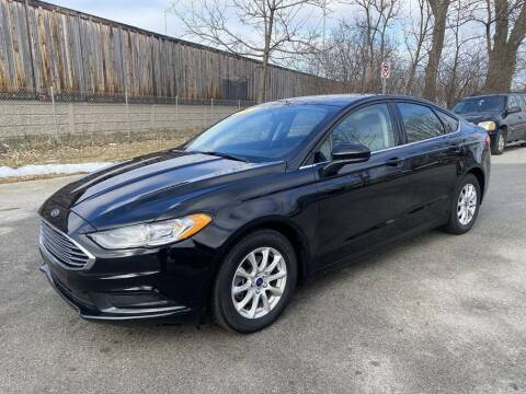 2017 Ford Fusion for sale at Posen Motors in Posen IL