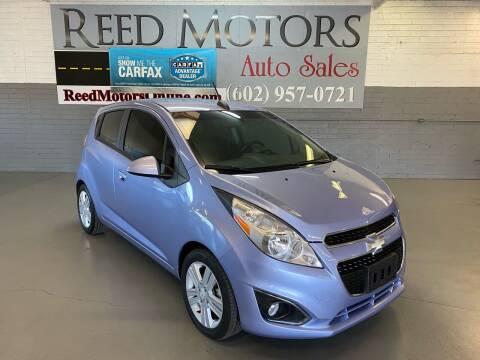 2015 Chevrolet Spark for sale at REED MOTORS LLC in Phoenix AZ