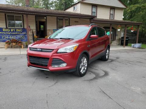 2014 Ford Escape for sale at BIG #1 INC in Brownstown MI