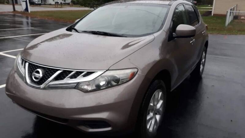 2011 Nissan Murano for sale at Happy Days Auto Sales in Piedmont SC