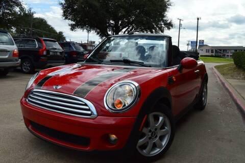 2010 MINI Cooper for sale at E-Auto Groups in Dallas TX