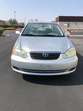 2007 Toyota Corolla for sale at CASH OR PAYMENTS AUTO SALES in Las Vegas NV