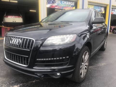 2013 Audi Q7 for sale at RoMicco Cars and Trucks in Tampa FL