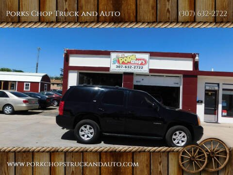 2013 GMC Yukon for sale at Porks Chop Truck and Auto in Cheyenne WY