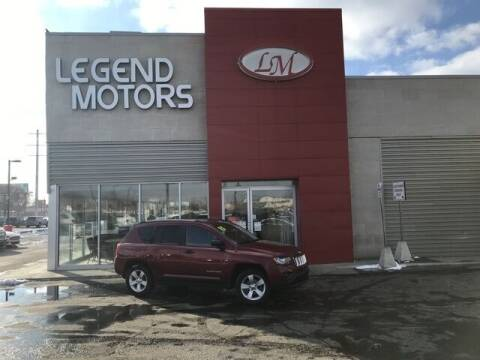 2015 Jeep Compass for sale at Legend Motors of Detroit - Legend Motors of Ferndale in Ferndale MI