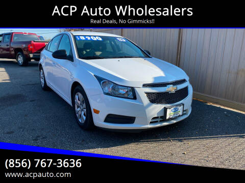 2014 Chevrolet Cruze for sale at ACP Auto Wholesalers in Berlin NJ