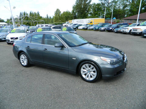 2007 BMW 5 Series for sale at J & R Motorsports in Lynnwood WA