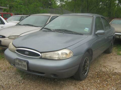 1999 Ford Contour for sale at Ody's Autos in Houston TX