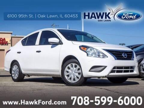 2017 Nissan Versa for sale at Hawk Ford of Oak Lawn in Oak Lawn IL