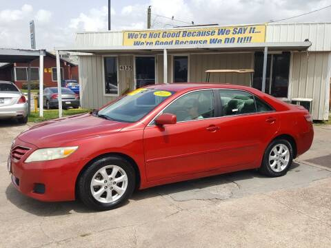 2011 Toyota Camry for sale at Taylor Trading Co in Beaumont TX