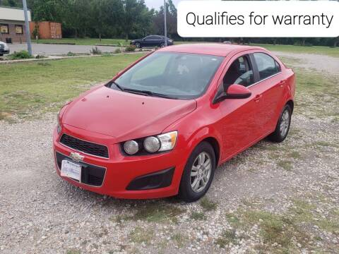 2015 Chevrolet Sonic for sale at NOTE CITY AUTO SALES in Oklahoma City OK