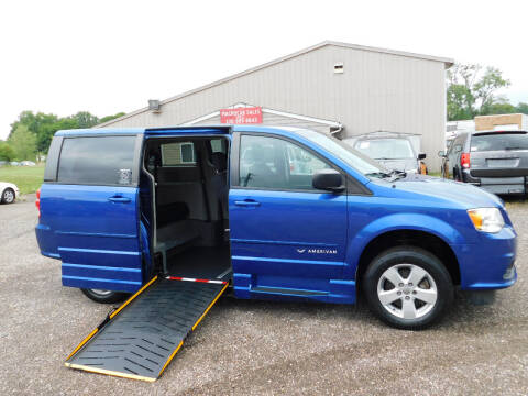 2013 Dodge Grand Caravan for sale at Macrocar Sales Inc in Akron OH