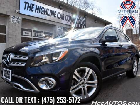 2018 Mercedes-Benz GLA for sale at The Highline Car Connection in Waterbury CT