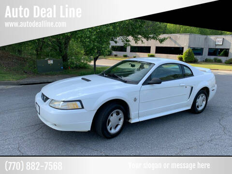 1999 Ford Mustang for sale at Auto Deal Line in Alpharetta GA