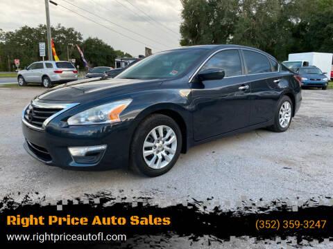 2015 Nissan Altima for sale at Right Price Auto Sales in Waldo FL