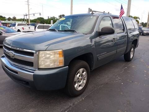 2009 Chevrolet Silverado 1500 for sale at BC Motors PSL in West Palm Beach FL