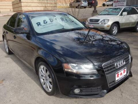 2012 Audi A4 for sale at R & D Motors in Austin TX