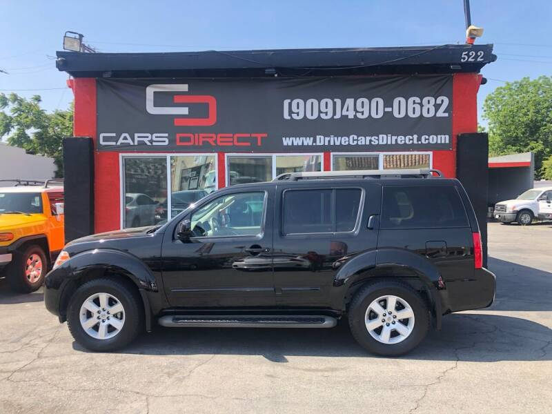 2010 Nissan Pathfinder for sale at Cars Direct in Ontario CA