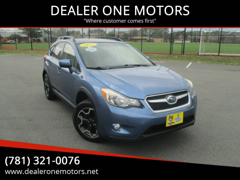 2015 Subaru XV Crosstrek for sale at DEALER ONE MOTORS in Malden MA