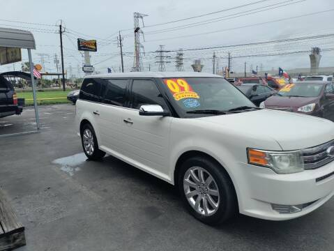 2009 Ford Flex for sale at Texas 1 Auto Finance in Kemah TX