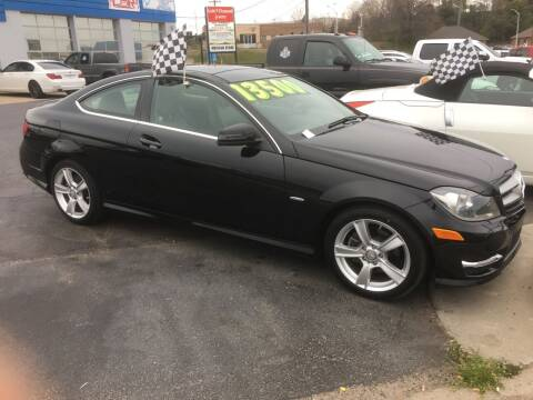 2012 Mercedes-Benz C-Class for sale at Brian Jones Motorsports Inc in Danville VA